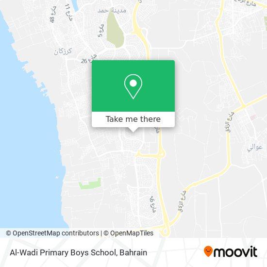Al-Wadi Primary Boys School map