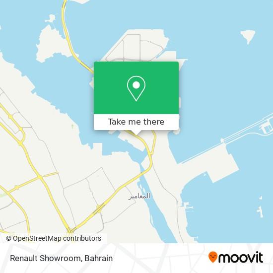 Renault Showroom map