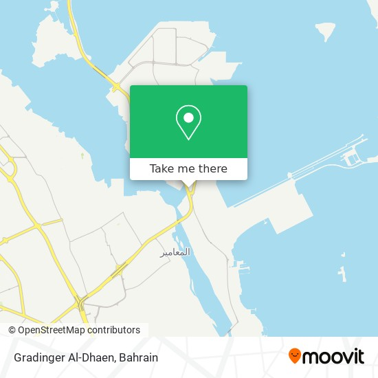 Gradinger Al-Dhaen map