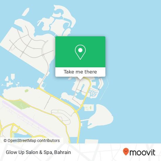 Glow Up Salon & Spa map