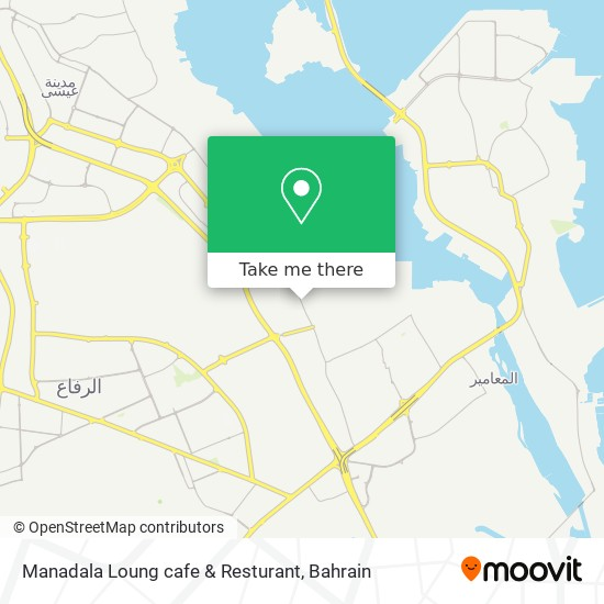 Manadala Loung cafe & Resturant map