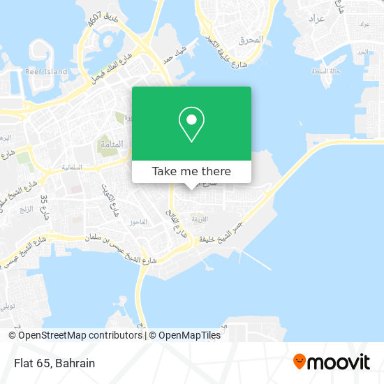 Flat 65 map
