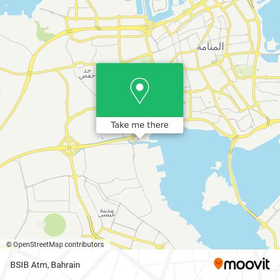 BSIB Atm map