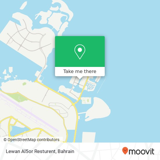 Lewan Al5or Resturent map