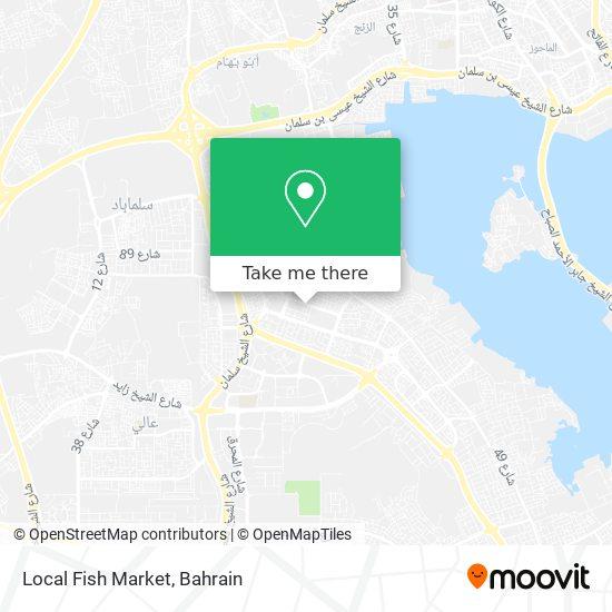 Local Fish Market map