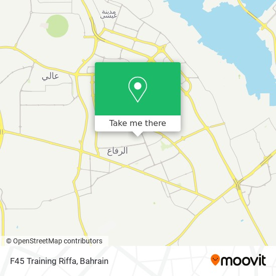 F45 Training Riffa map