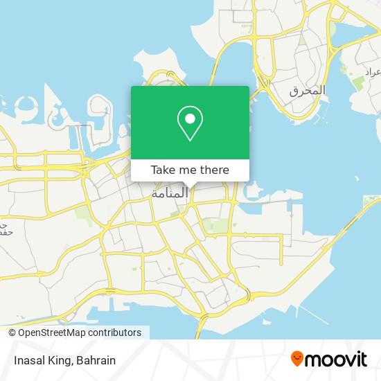Inasal King map