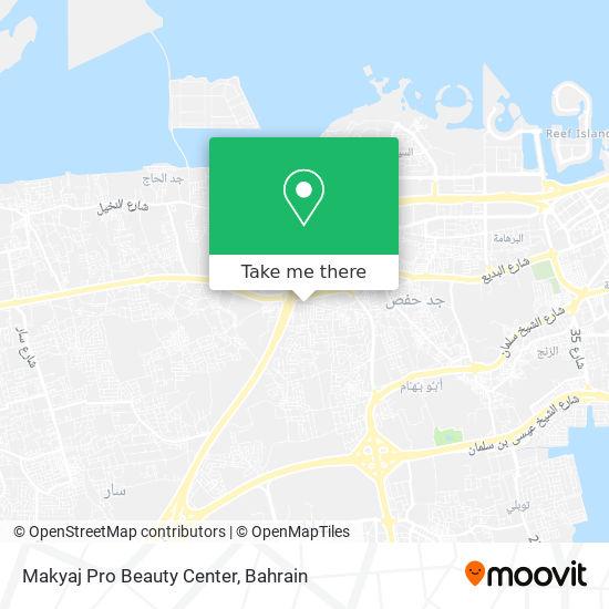 Makyaj Pro Beauty Center map
