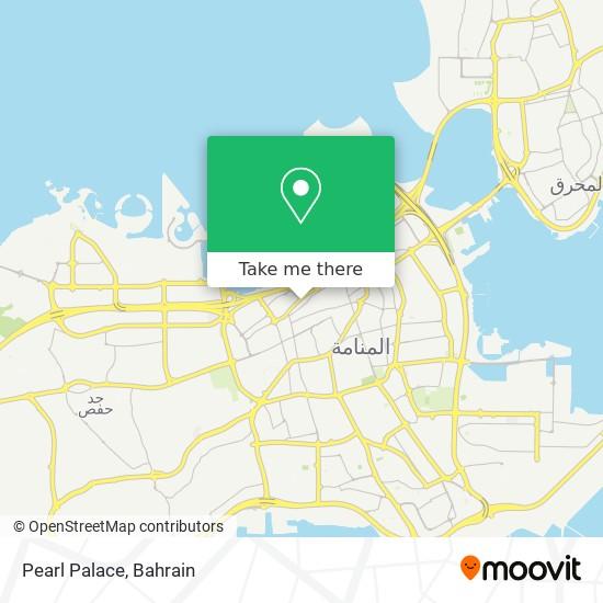 Pearl Palace map