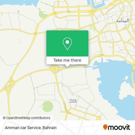 Amman car Service map