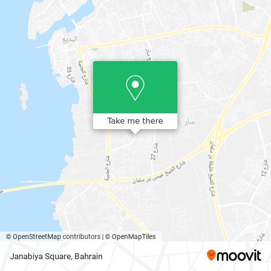 Janabiya Square map