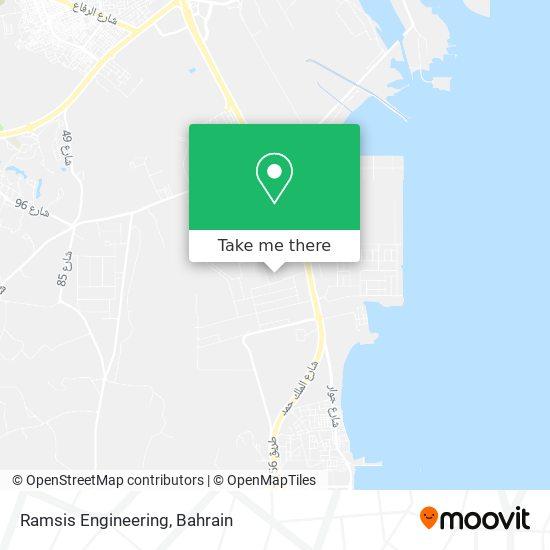 Ramsis Engineering map