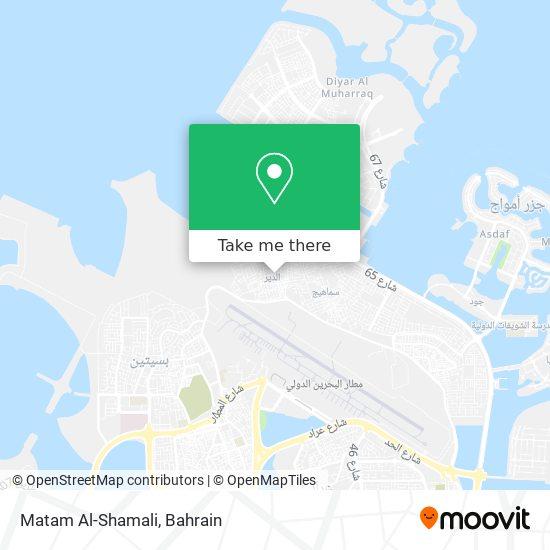 Matam Al-Shamali map