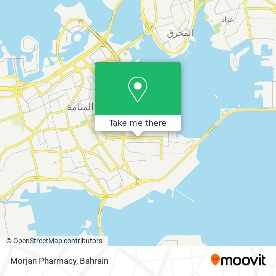 Morjan Pharmacy map