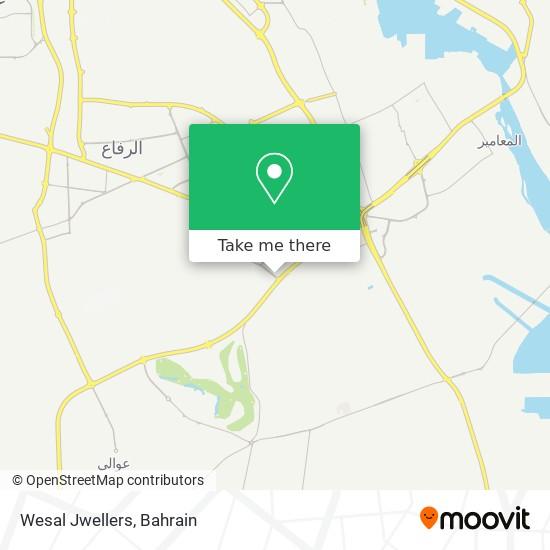 Wesal Jwellers map