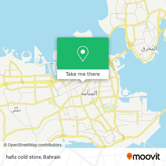 hafiz cold store map