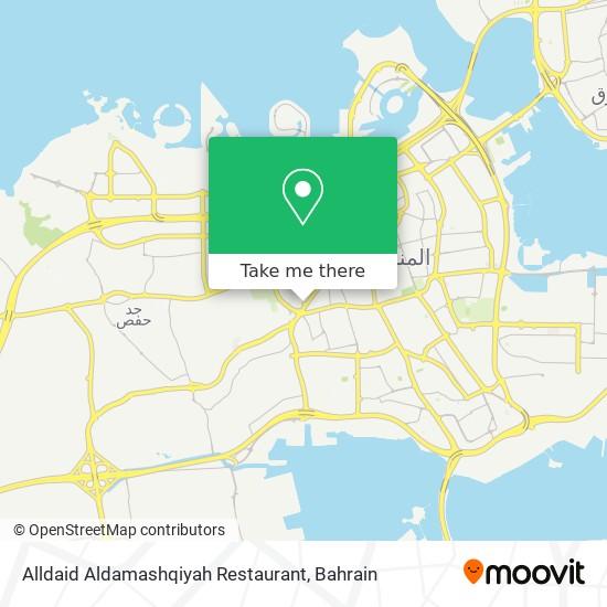 Alldaid Aldamashqiyah Restaurant map