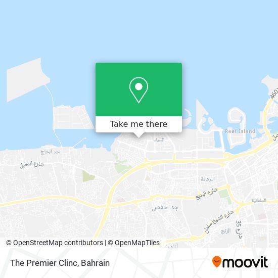 The Premier Clinc map
