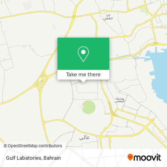 Gulf Labatories map