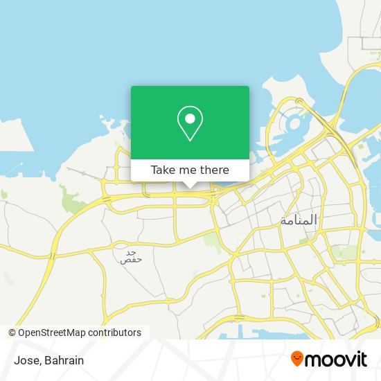 Jose map