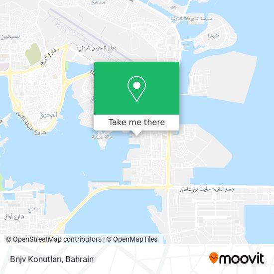 Bnjv Konutları map