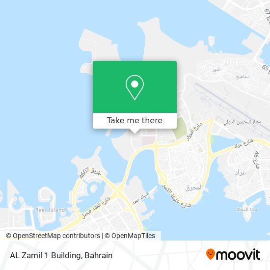 AL Zamil 1 Building map