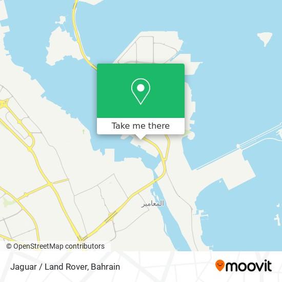 Jaguar / Land Rover map