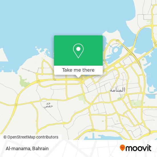 Al-manama map