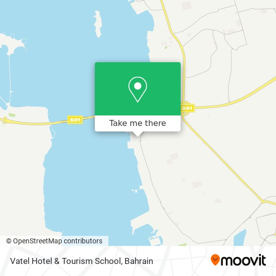 Vatel Hotel & Tourism School map