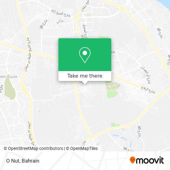 O Nut map