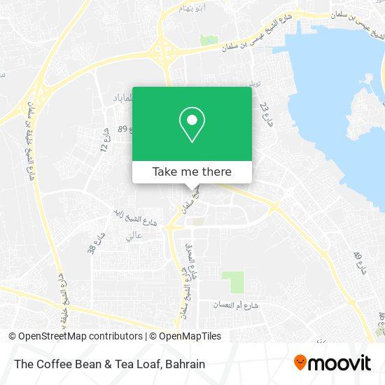 The Coffee Bean & Tea Loaf map
