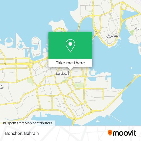 Bonchon map