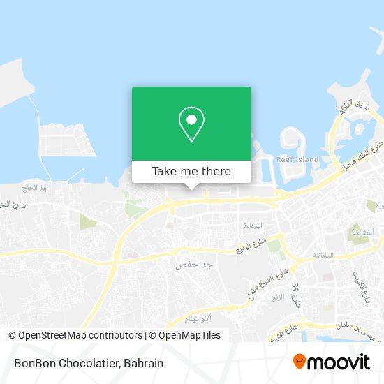 BonBon Chocolatier map