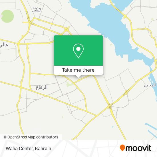 Waha Center map
