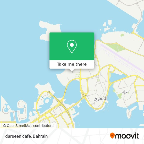 darseen cafe map