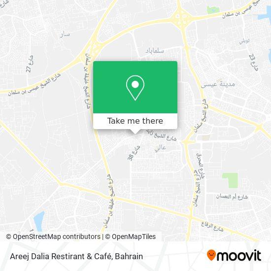 Areej Dalia Restirant & Café map