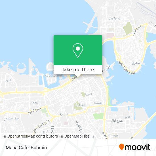 Mana Cafe map