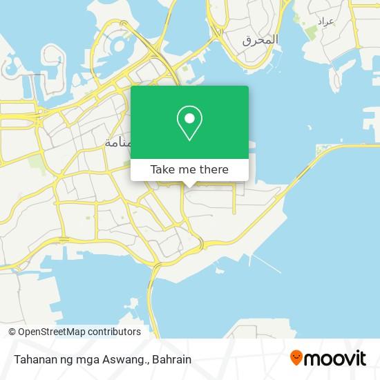 Tahanan ng mga Aswang. map
