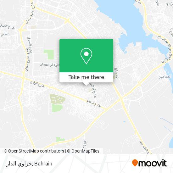 حزاوي الدار map