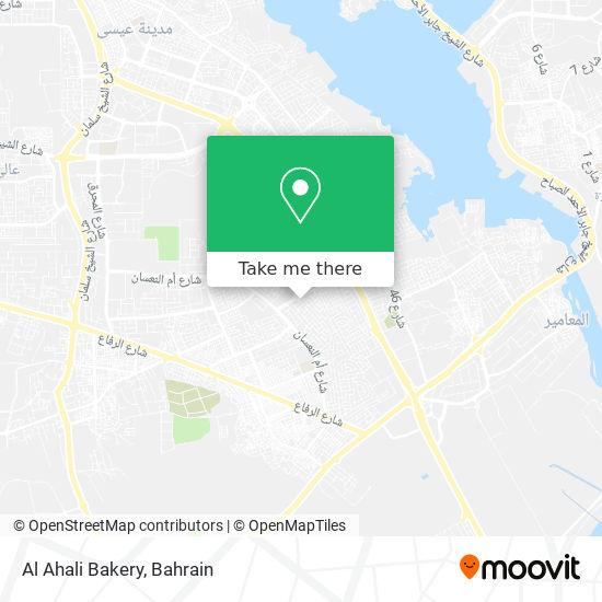 Al Ahali Bakery map