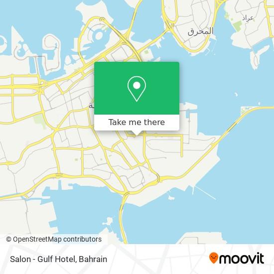 Salon - Gulf Hotel map