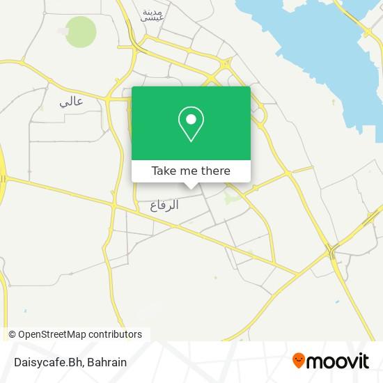 Daisycafe.Bh map