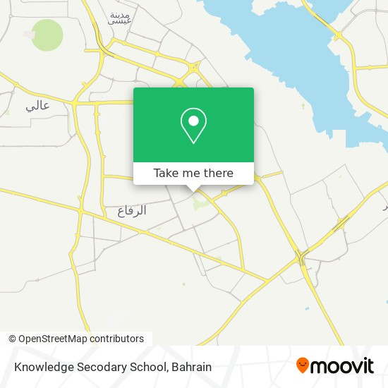 Knowledge Secodary School map