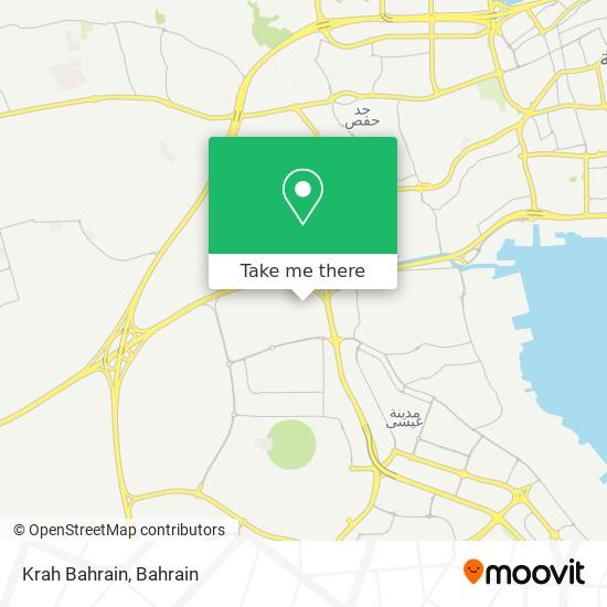 Krah Bahrain map