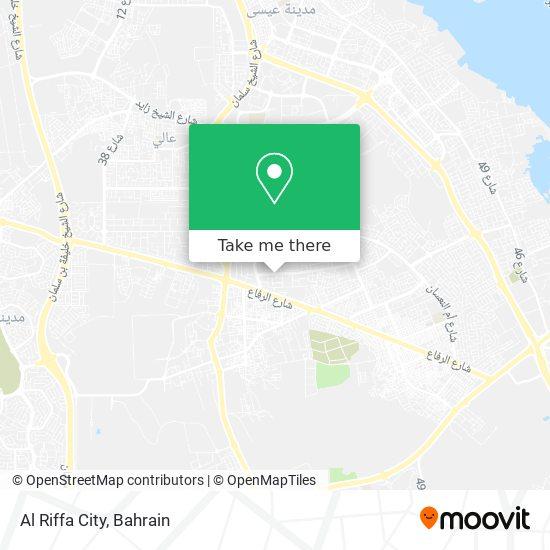 Al Riffa City map