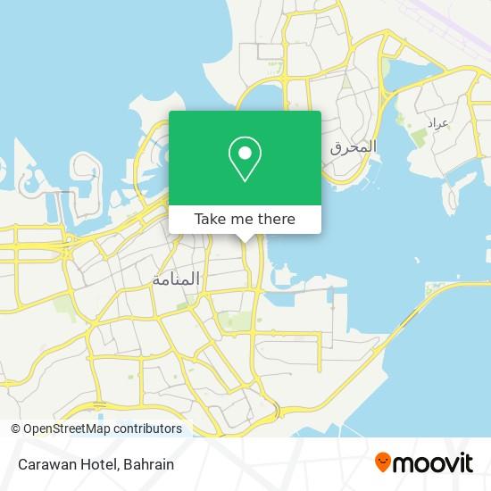 Carawan Hotel map