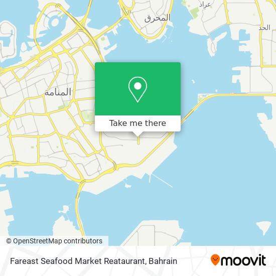 Fareast Seafood Market Reataurant map