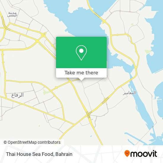 Thai House Sea Food map