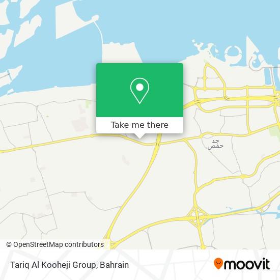 Tariq Al Kooheji Group map