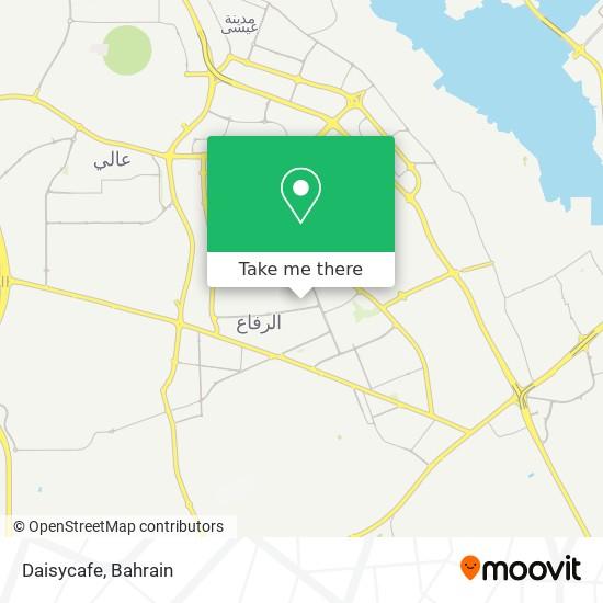 Daisycafe map
